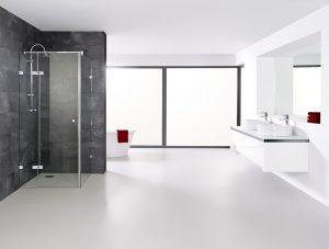 Eck-Duschen