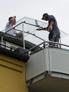 Balkonverglasungen, Balkon-Verglasung