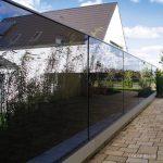 Glas-Sichtschutz, Glas-Windschutz
