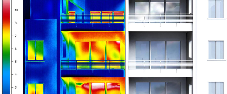 Glasaustausch, Isolierverglasung, Isolierglasfenster, Wärmebildkamera