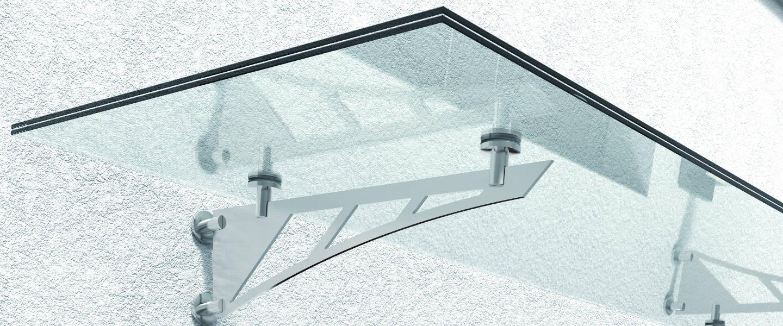Glasvordächer, Glasvordach