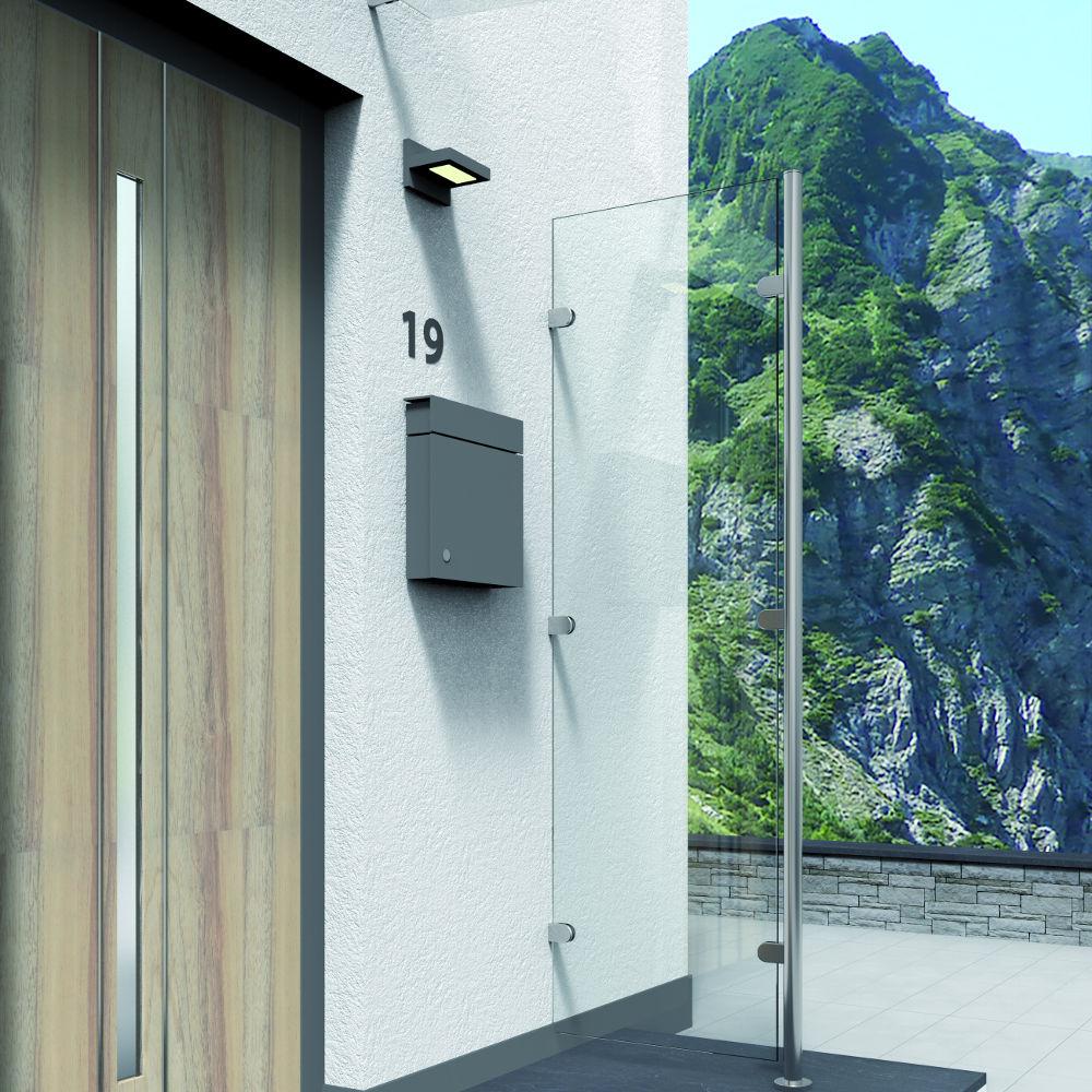 Windfang Hauseingang Glas glasvordächer glasvordach glastechnik max pauliel gmbh