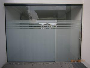Glasgestaltung Siebdruck