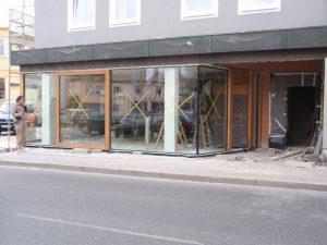 Fassadenverglasungen, Fassaden-Verglasung
