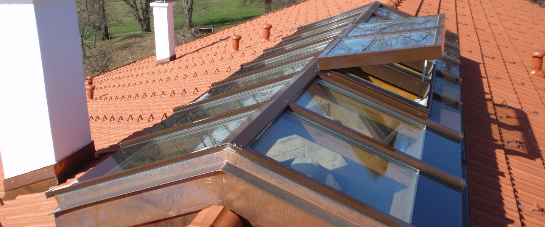 Dachverglasung, Fassadenverglasung