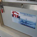 Hochwasser-Türsystem, Schlauchplatten