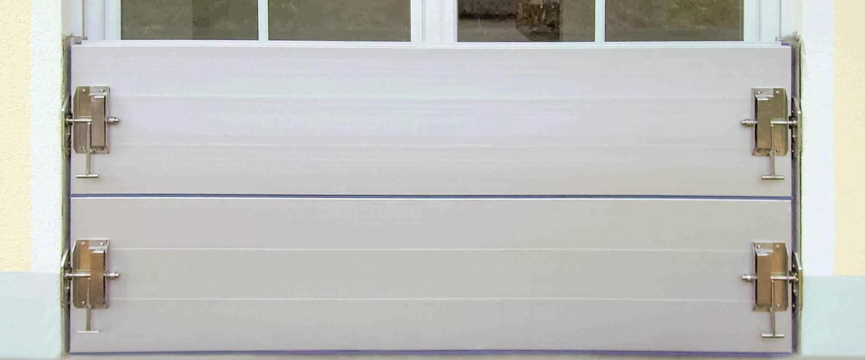 Hochwasserschutz für Fenster und Türen