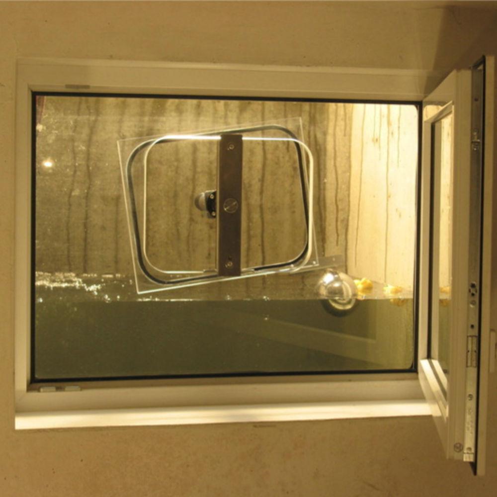 Hochwasser-Fenstersysteme, manuell